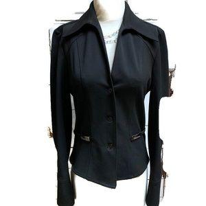 Vertigo Paris Large petite black blazer fitted